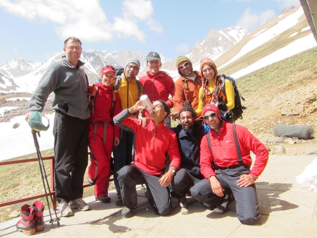 Back: Me, Mahsa Hokamzadeh, Saeid Mahmodi, Jim Donini, Majid, Shaima Shadman; front: