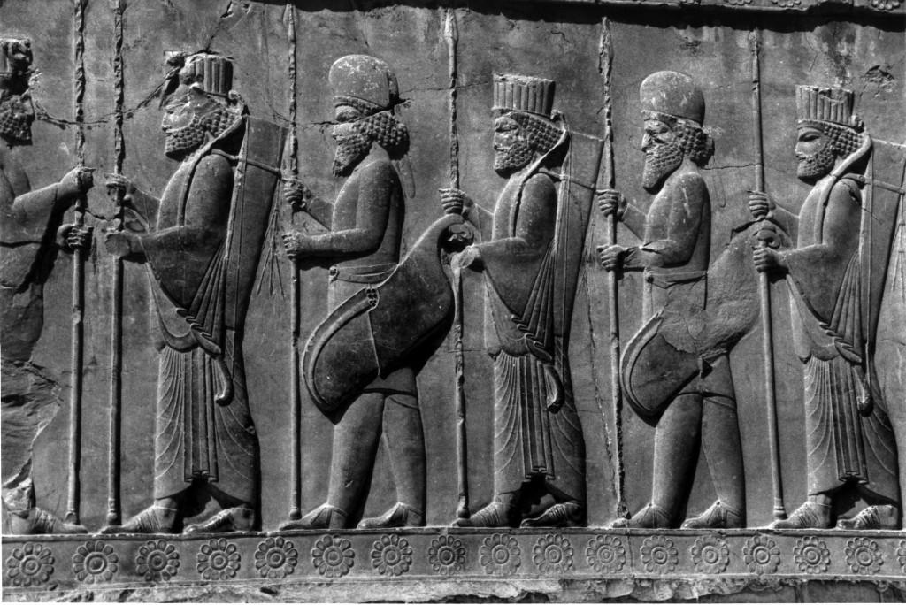 Persepolis bas-relief copy