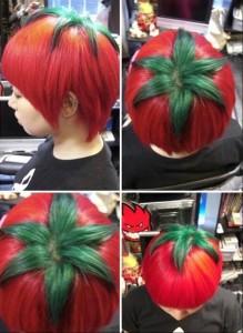 tomato hair