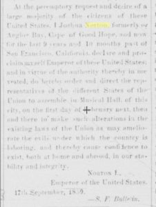 Emperor Norton copy